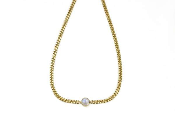 Circle_ChunkyNecklace_Moonstone_Gold